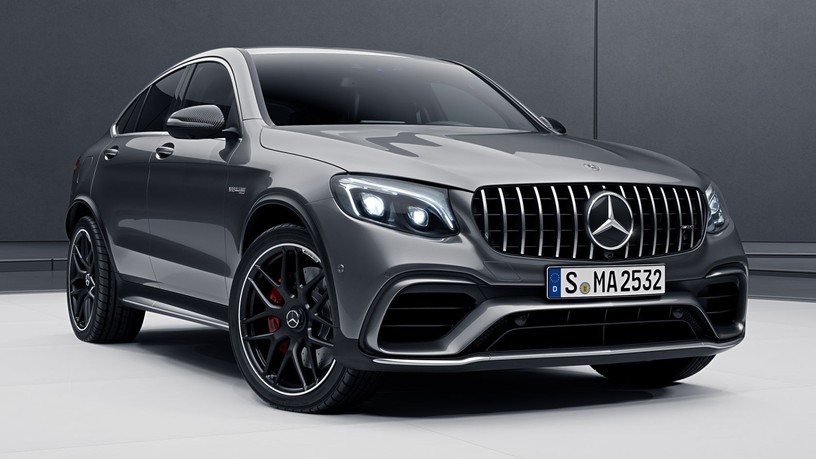 Mercedes Amg Glc 63 63 S 4matic Coupe In Detail