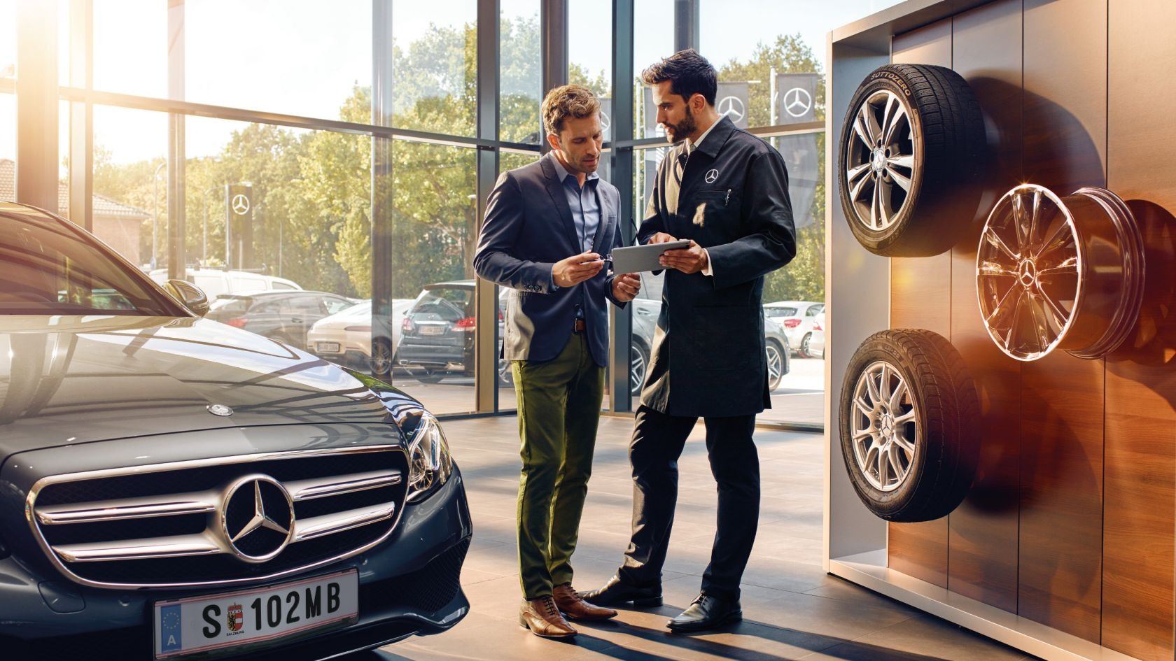 Global Auto Leasing >> Mercedes-Benz Service: maintenance and Mobilo mobility solution